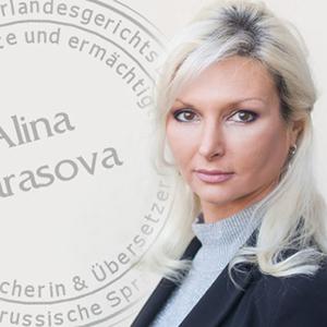 Alina Tarasova - Deutsch-Russisch Übersetzungen